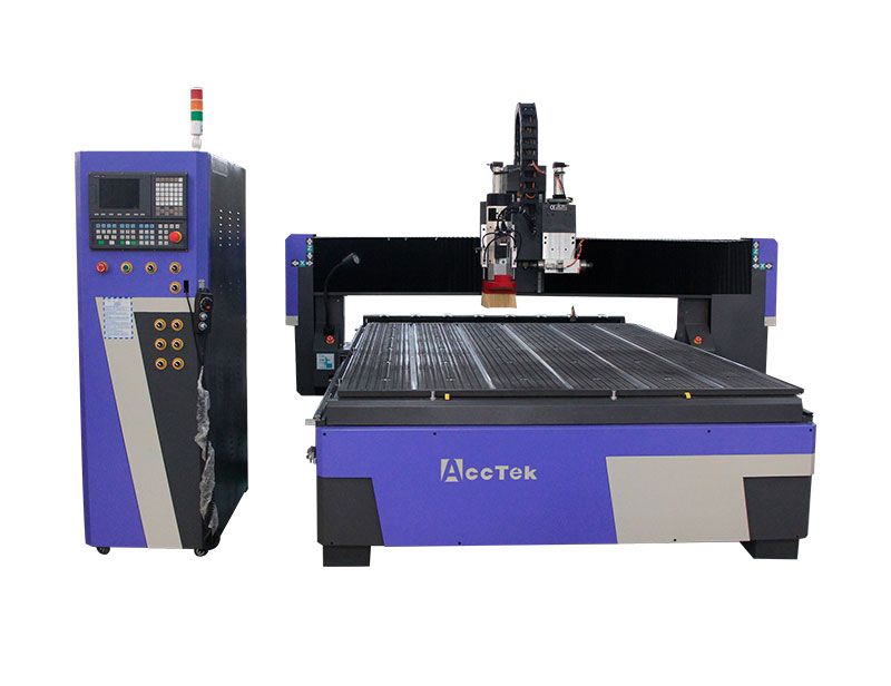 ATC CNC Router with a horizontal spindle