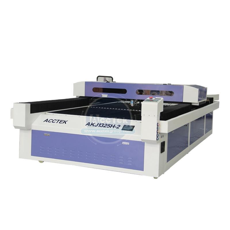 Laser mixing cutting machine