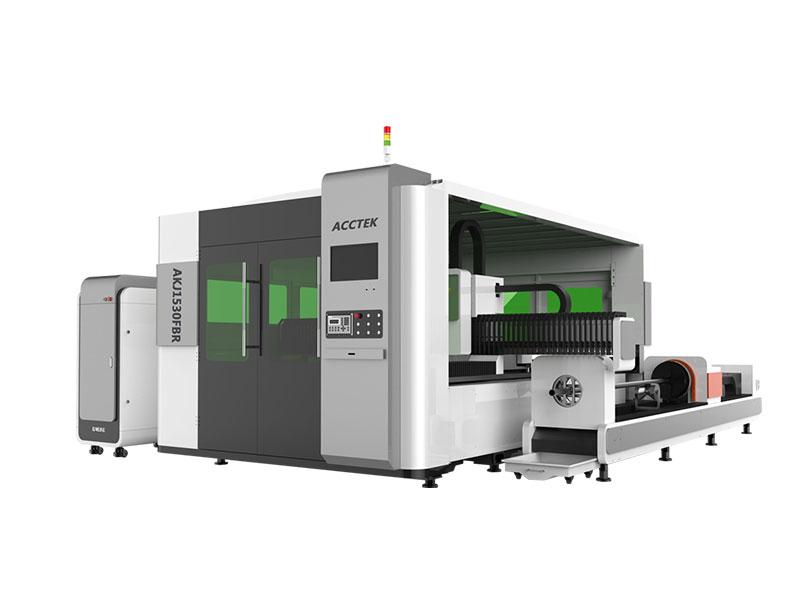 Machine de Découpe Laser à Fibre entièrement fermé
