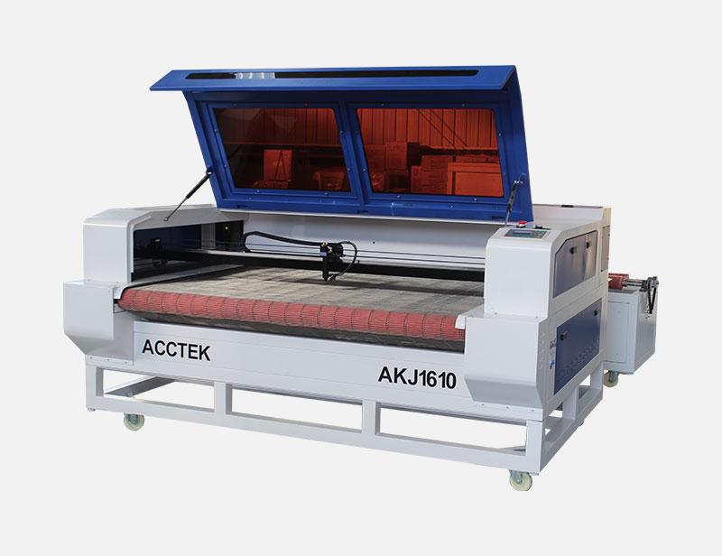 Machine de découpe laser avec dispos