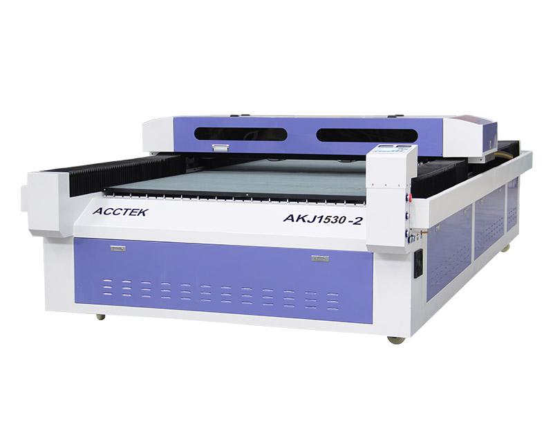 Machine de découpe laser de grande taille à deux têtes