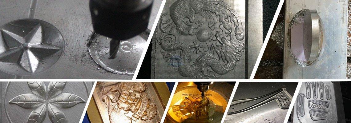 Econmic Metal engraving machine