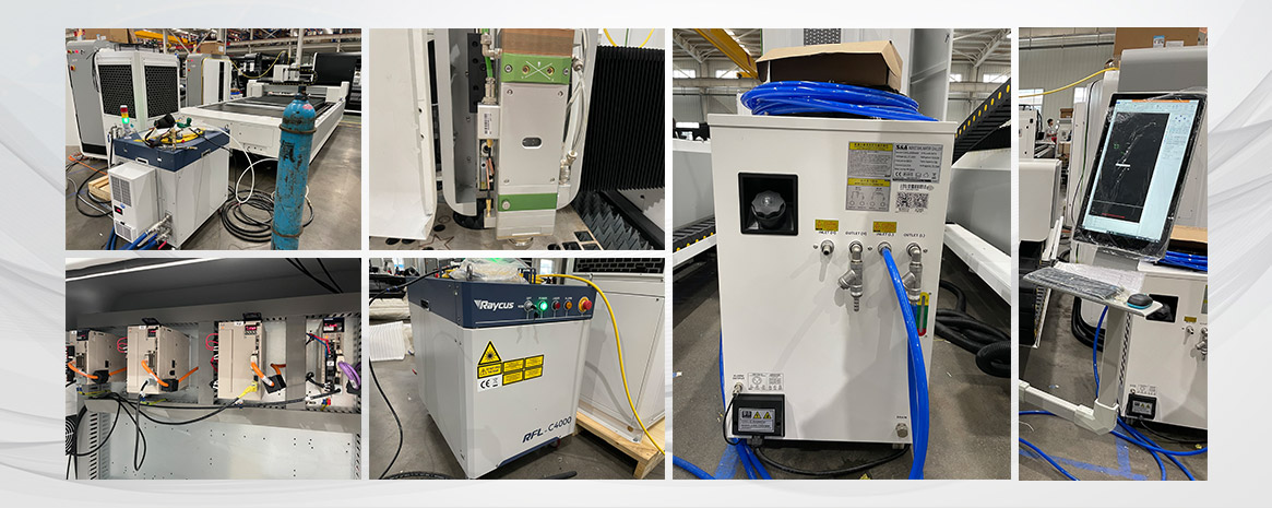fiber laser cutter configuration