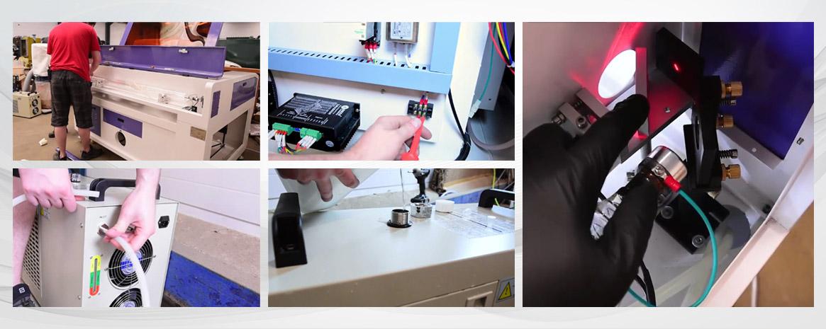 Laser Machine maintenance