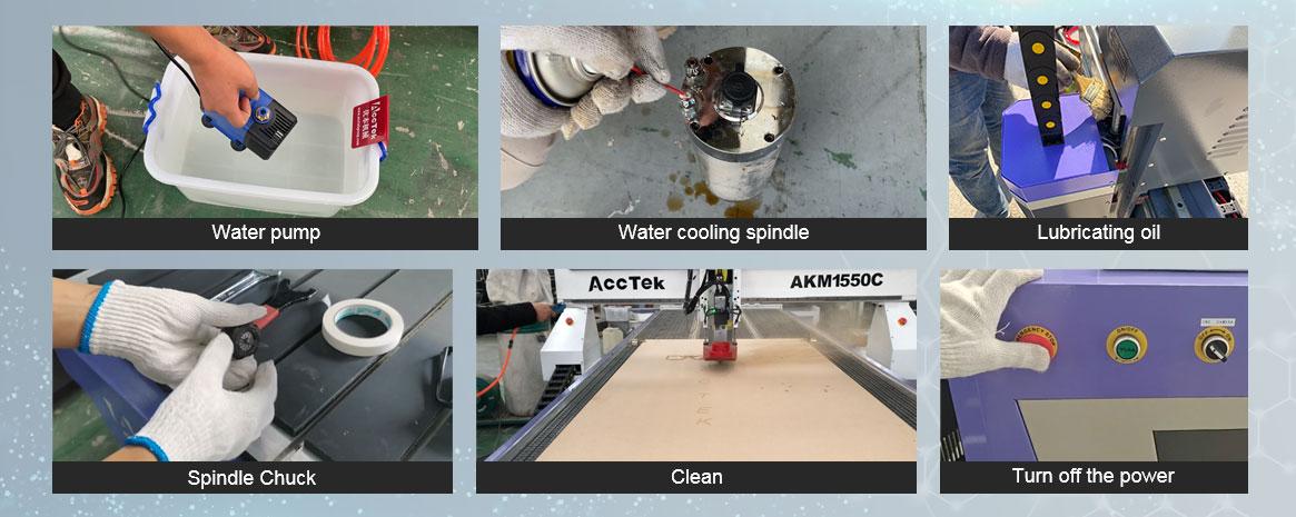 Maintenance of CNC